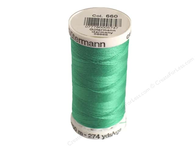 Gutermann Sew-All Thread 273 yd. #660 Light Turquoise