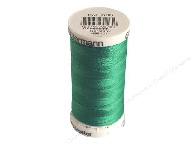 Gutermann Sew-All Thread 273 yd. #680 Marine Aqua