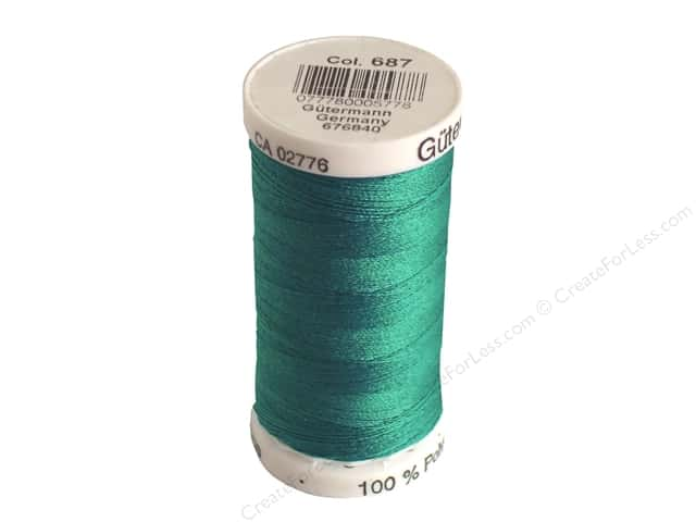 Gutermann Sew-All Thread 273 yd. #687 Prussian Green