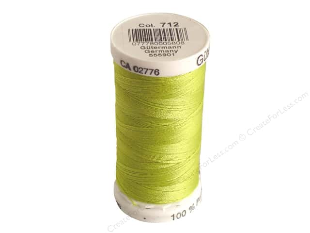 Gutermann Sew-All Thread 273 yd. #712 Lime
