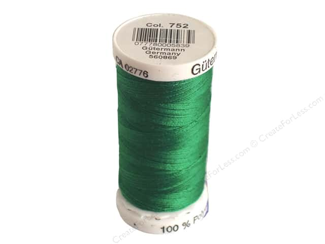 Gutermann Sew-All Thread 273 yd. #752 Grass Green