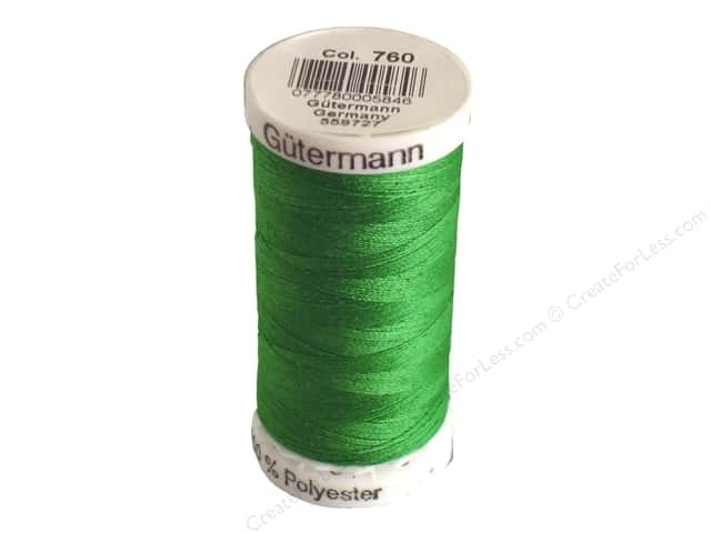 Gutermann Sew-All Thread 273 yd. #760 Kelley Green