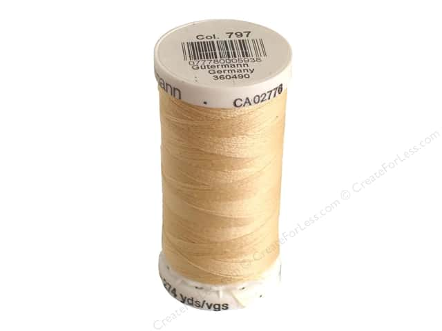 Gutermann Sew-All Thread 273 yd. #797 Capucine Buff