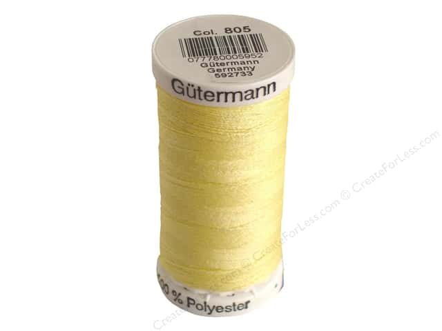 Gutermann Sew-All Thread 273 yd. #805 Cream