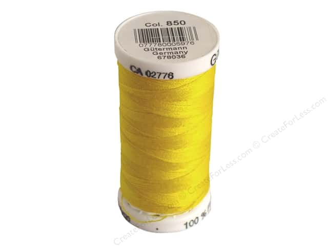 Gutermann Sew-All Thread 273 yd. #850 Goldenrod