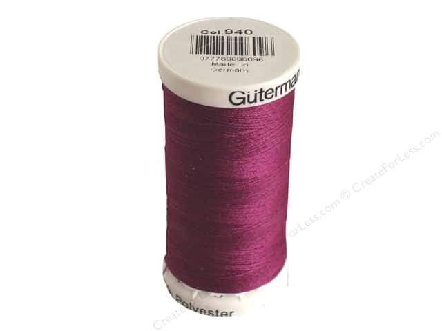 Gutermann Sew-All Thread 273 yd. #940 Amethyst