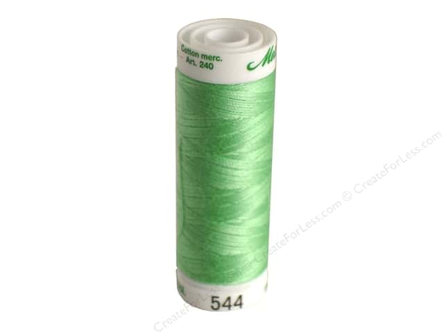 Mettler Silk Finish Cotton Thread 60 wt. 220 yd. #0220 Meadow