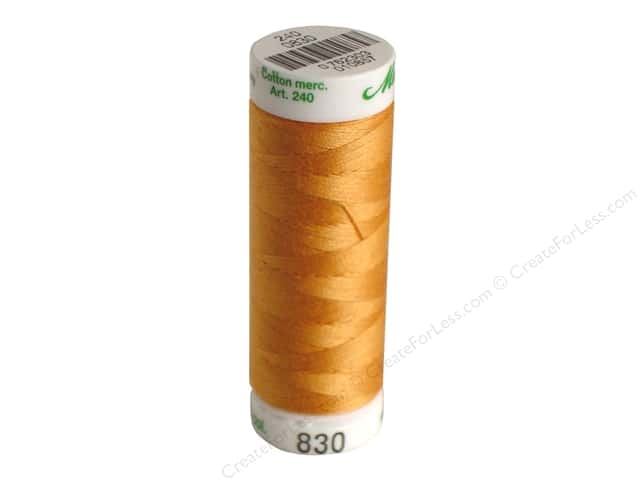 Mettler Silk Finish Cotton Thread 60 wt. 220 yd. #1172 Dried Apricot