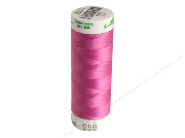 Mettler Silk Finish Cotton Thread 60 wt. 220 yd. #0052 Cachet