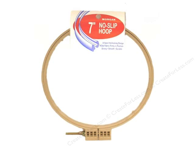 Morgan Quality Products No-Slip Hoops 7""