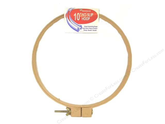 Morgan Quality Products No-Slip Hoops 10""