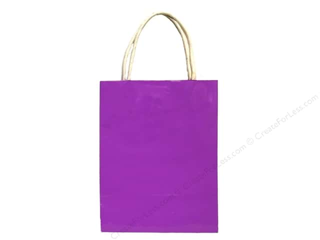 Medium Gift Bag by Cindus  Clay Coat Grape