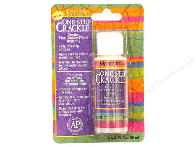 DecoArt One Step Crackle 2 oz.