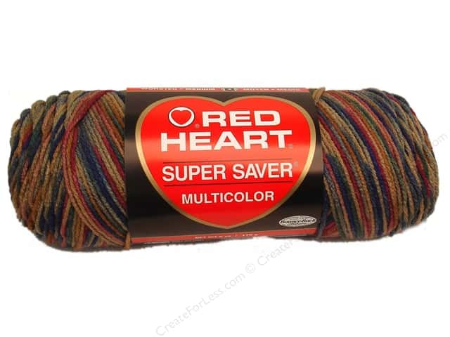 Red Heart Super Saver Yarn #0303 Painted Desert 236 yd.