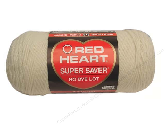 Red Heart Super Saver Yarn 364 yd. #0313 Aran