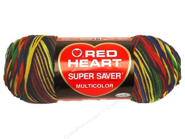 Red Heart Super Saver Yarn 236 yd. #0950 Mexicana