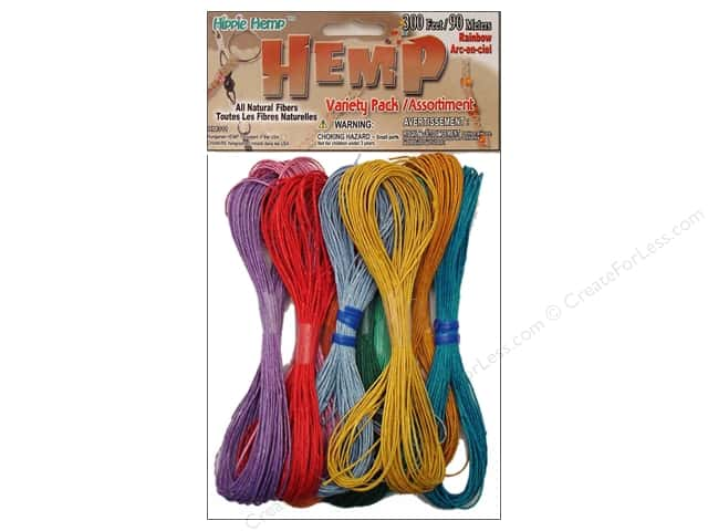 Pepperell Hemp Rainbow 10pc
