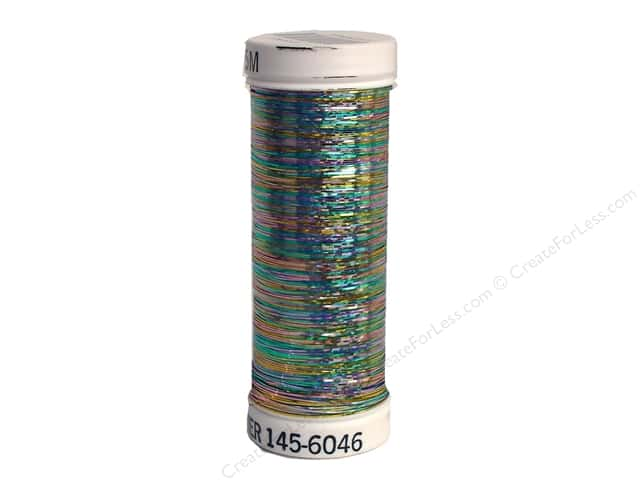Sulky Holoshimmer Metallic Thread 250 yd. #6046 Multi-Color Light