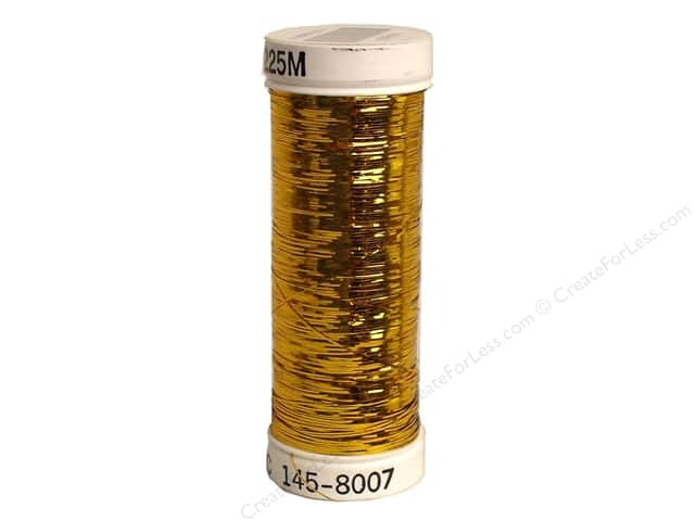 Sulky Silver Metallic Thread 250 yd. #8007 Gold