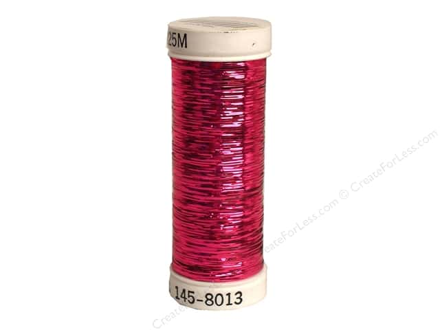 Sulky Silver Metallic Thread 250 yd. #8013 Fuchsia