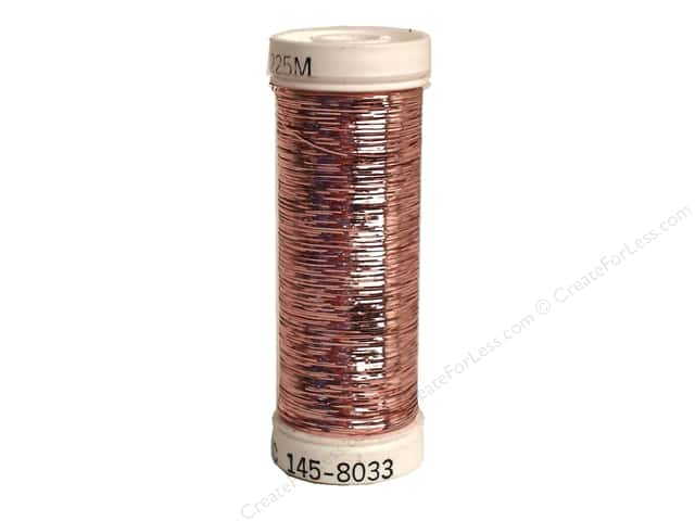 Sulky Silver Metallic Thread 250 yd. #8033 Light Pink