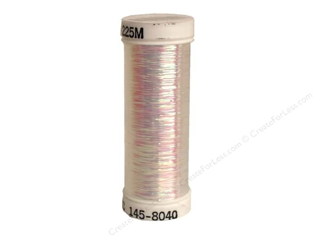Sulky Silver Metallic Thread 250 yd. #8040 Opalescent