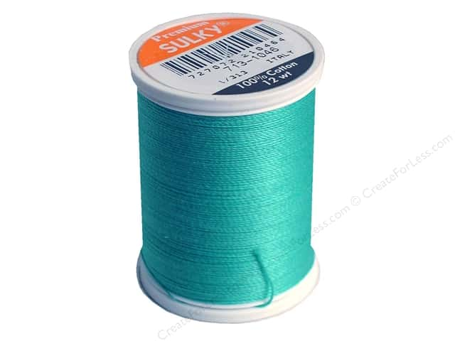 Sulky Cotton Thread 12 wt. 330 yd. #1046 Teal