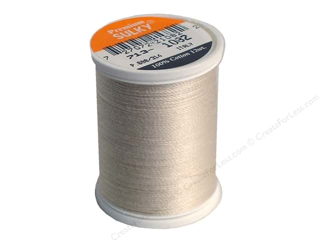 Sulky Cotton Thread 12 wt. 330 yd. #1082 Ecru