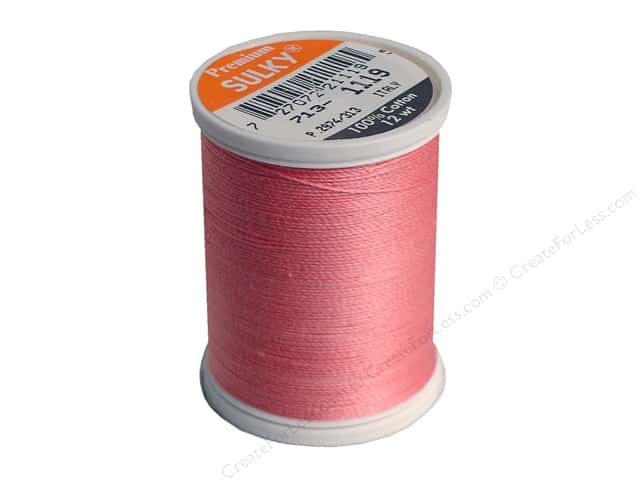 Sulky Cotton Thread 12 wt. 330 yd. #1119 Dark Mauve