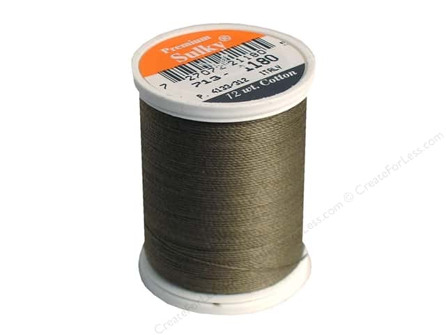 Sulky Cotton Thread 12 wt. 330 yd. #1180 Medium Taupe