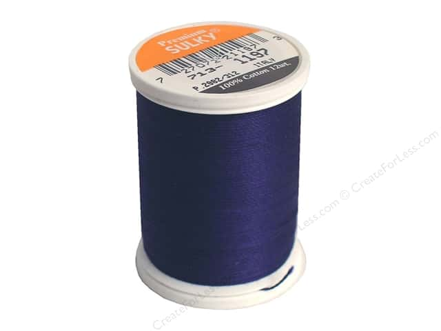 Sulky Cotton Thread 12 wt. 330 yd. #1197 Medium Navy