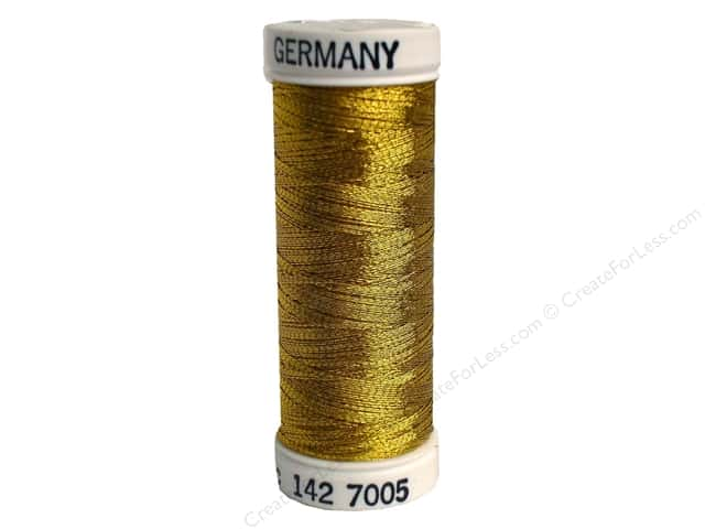 Sulky Original Metallic Thread 165 yd. #7005 Brass