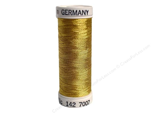 Sulky Original Metallic Thread 165 yd. #7007 Gold