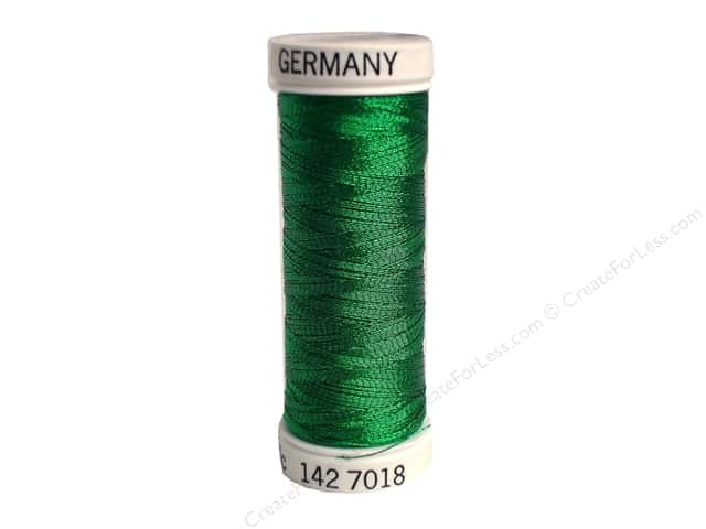 Sulky Original Metallic Thread 165 yd. #7018 Christmas Green