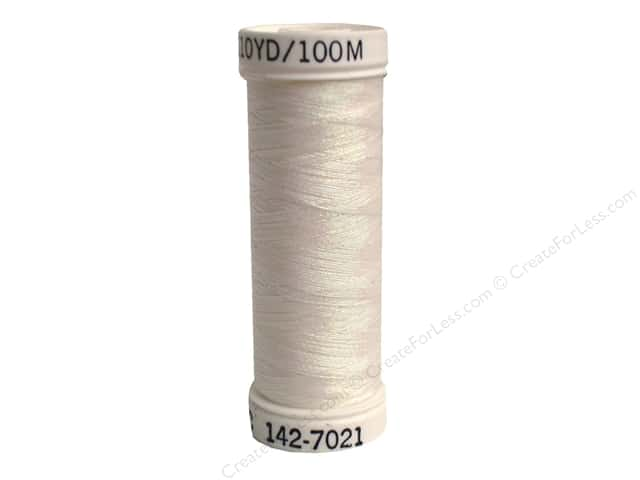 Sulky Original Metallic Thread 165 yd. #7021 Prism White.