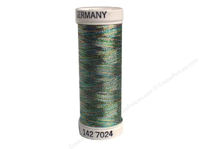 Sulky Original Metallic Thread 165 yd. #7024 Light Blue/Gold/Lavender