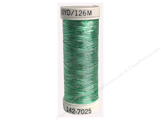 Sulky Original Metallic Thread 165 yd. #7025 Silver/Icy Blue