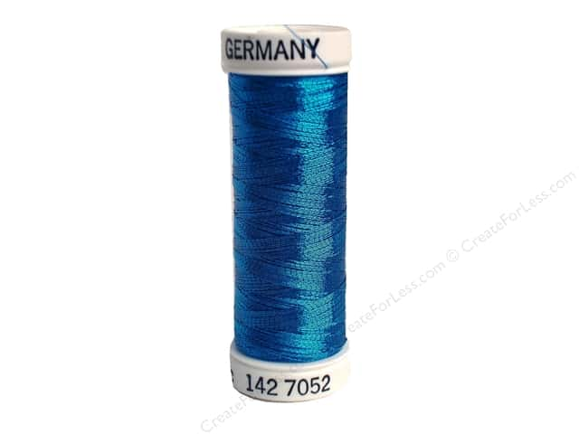 Sulky Original Metallic Thread 165 yd. #7052 Peacock Blue