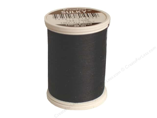 Sulky Cotton Thread 30 wt. 500 yd. #1005 Black