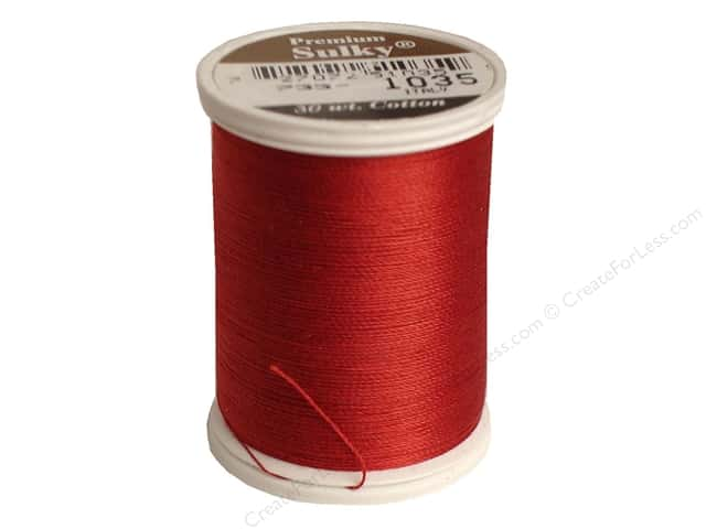 Sulky Cotton Thread 30 wt. 500 yd. #1035 Dark Burgundy
