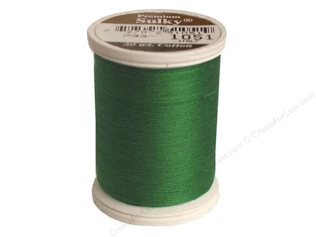 Sulky Cotton Thread 30 wt. 500 yd. #1051 Christmas Green