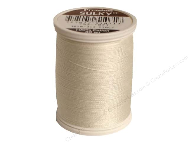Sulky Cotton Thread 30 wt. 500 yd. #1071 Off White