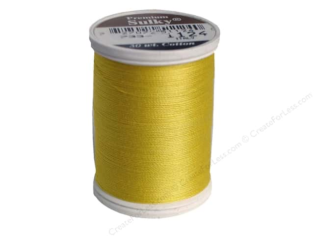 Sulky Cotton Thread 30 wt. 500 yd. #1124 Sun Yellow