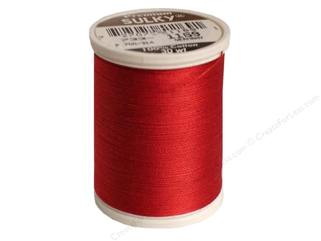 Sulky Cotton Thread 30 wt. 500 yd. #1169 Bayberry Red