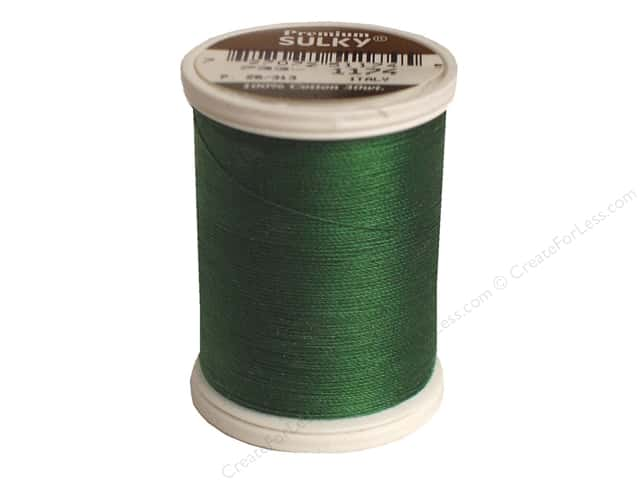 Sulky Cotton Thread 30 wt. 500 yd. #1174 Dark Pine Green