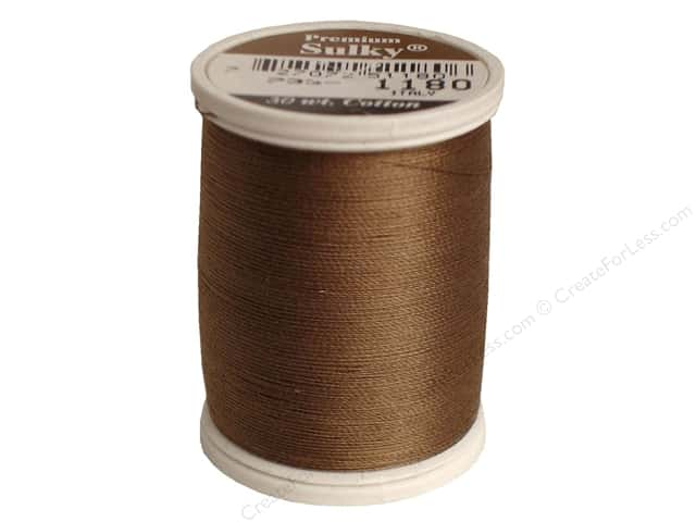 Sulky Cotton Thread 30 wt. 500 yd. #1180 Medium Taupe