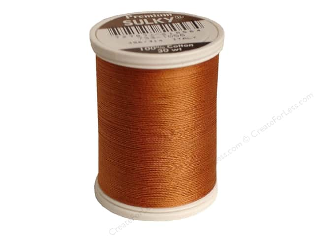 Sulky Cotton Thread 30 wt. 500 yd. #1056 Medium Tawny Tan