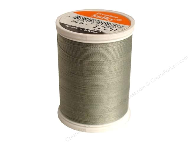 Sulky Cotton Thread 12 wt. 330 yd. #1270 Dark Grey Khaki