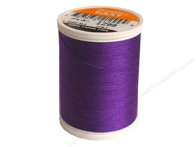 Sulky Cotton Thread 12 wt. 330 yd. #1299 Purple Shadow