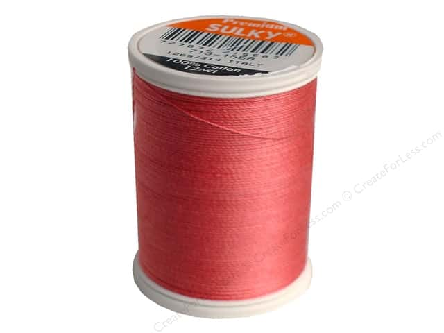 Sulky Cotton Thread 12 wt. 330 yd. #1558 Tea Rose